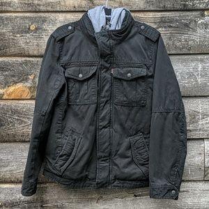 Levi's Sherpa Lined Heavyweight Black Jacket